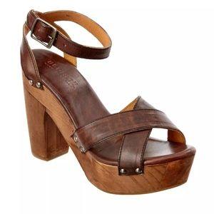 3c25dbbf4971 Bed Stu Shoes - Bed Stu Madeline Leather Wood Platform Sandal